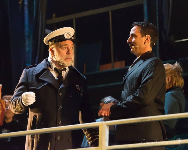 Le Capitaine et Bruce Ismay